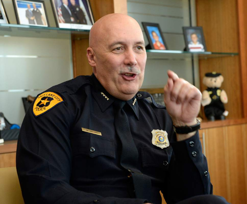 Mike Brown ï Salt Lake City police chief
