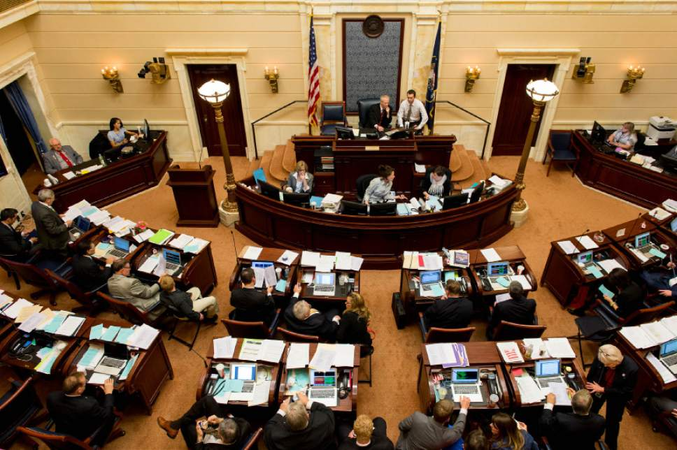 Trent Nelson  |   Tribune file photo The Utah Senate has passed a bill that removes from state law a prohibition of advocacy of homosexuality in sex-ed instruction.