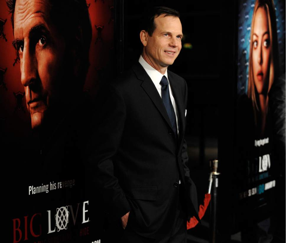"FILE - In this Wednesday, Jan. 14, 2009, file photo, Bill Paxton, a cast member in the HBO series ""Big Love,"" poses at the show's third season premiere in Los Angeles. A family representative said prolific and charismatic actor Paxton, who played an astronaut in ""Apollo 13"" and a treasure hunter in ""Titanic,"" died from complications due to surgery. The family representative issued a statement Sunday, Feb. 26, 2017, on the death. (AP Photo/Chris Pizzello, File)"