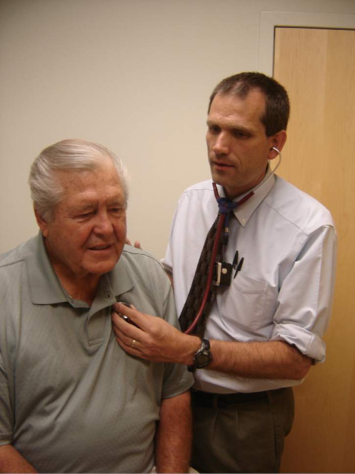 |  Courtesy Ray Ward Campaign  Bountiful physician Ray Ward is also a Republican state lawmaker from Bountiful.