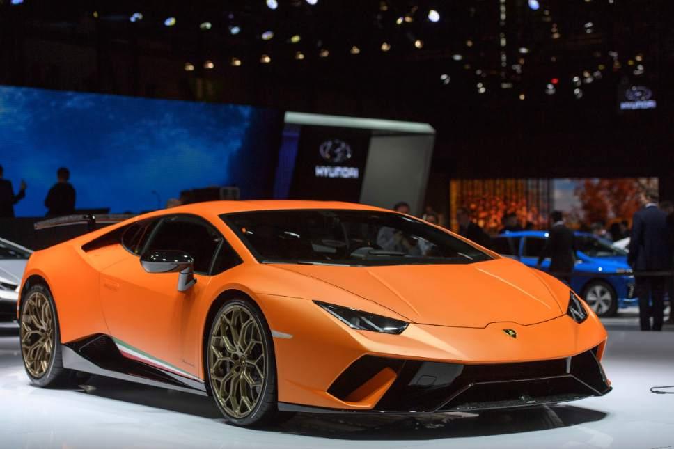 SUVs Highend Sports Cars Roar At Geneva Show The Salt Lake Tribune - Sports cars high end