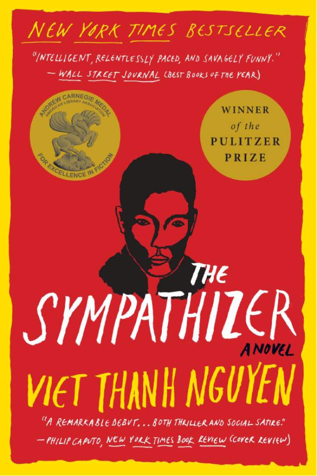 "Courtesy photo  Book cover for the novel ""The Sympathizer"" by Viet Thanh Nguyen."