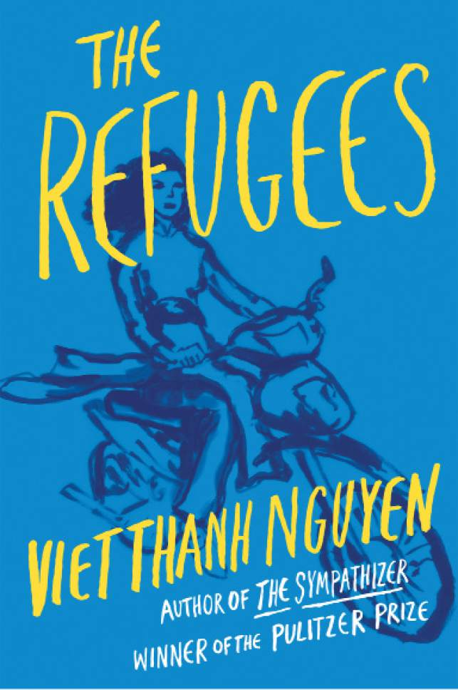 "Courtesy photo  Book cover for the short story collection, ""The Refugees"" Viet Thanh Nguyen."