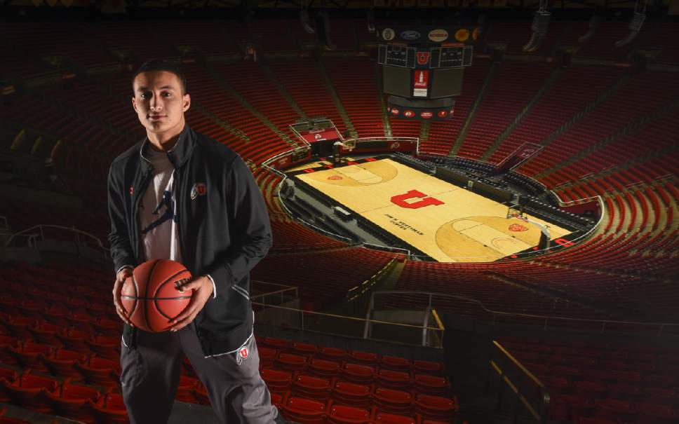 Francisco Kjolseth | The Salt Lake Tribune Kyle Kuzma has taken the leap in each of his seasons. Now he's making his next big decision: To go to the NBA? Or not to go?
