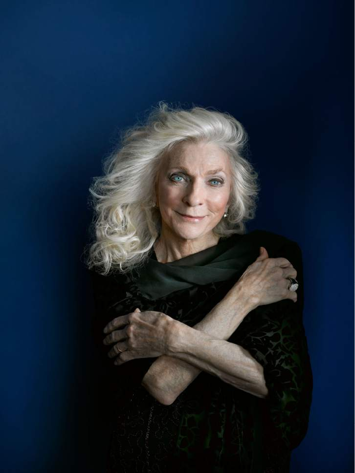 Courtesy photo Grammy-winning folk singer Judy Collins will be performing at Abravanel Hall on Saturday, March 11.