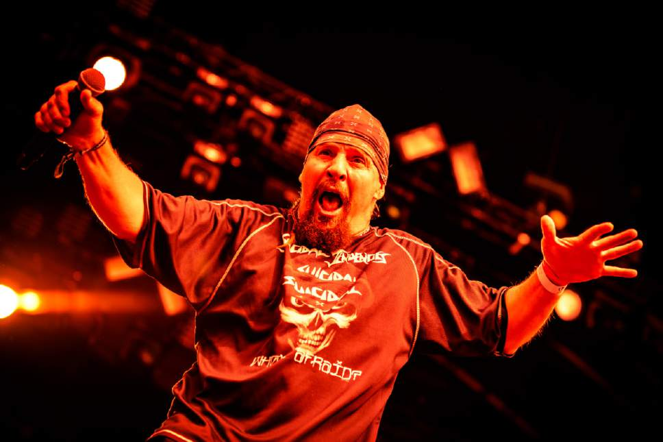 """Courtesy photo  Venice, Calif.-based crossover thrash band Suicidal Tendencies, featuring singer Mike Muir, wraps up its """"World Gone Mad Tour"""" on Saturday, March 11 at The Complex in Salt Lake City."""