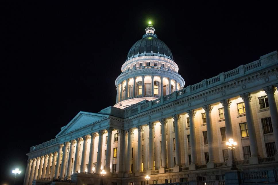 Chris Detrick     The Salt Lake Tribune The Utah State Capitol Thursday March 9, 2017.