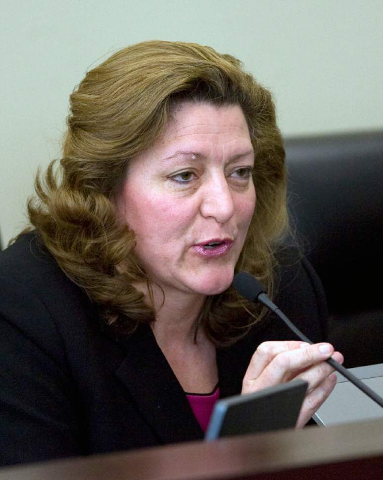 Al Hartmann   |  Tribune file photo Holly Richardson, a Republican who got into politics by working on an issue in the Legislature with Biskupski, said the mayor has been treated with a different, harsher standard than others right from the beginning.