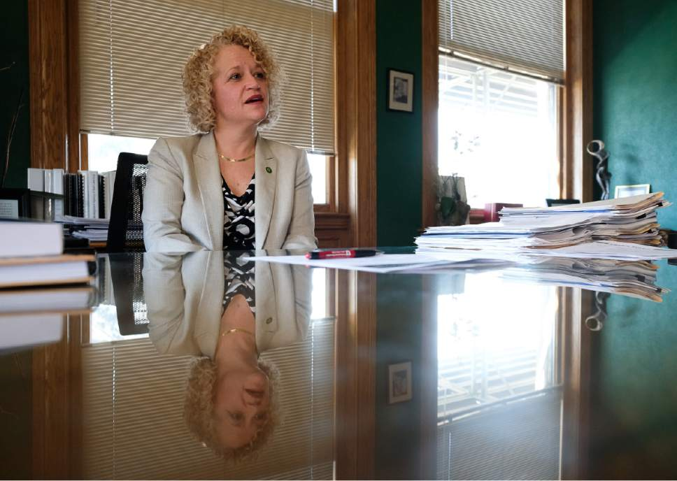 Francisco Kjolseth | The Salt Lake Tribune We sit down with Salt Lake City Mayor Jackie Biskupski to talk about the challenges she faced during her first year as mayor and what lies ahead.