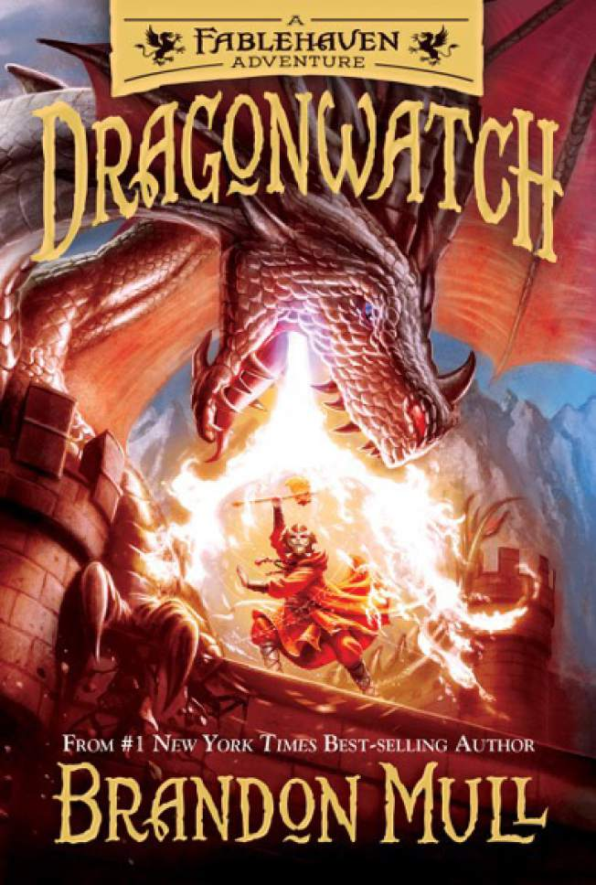 "Courtesy photo  Cover of  ""Dragonwatch: A Fablehaven Adventure,"" by Brandon Mull."