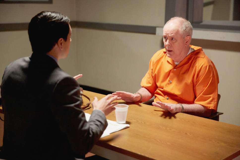 """Nicholas D'Agosto as Josh and John Lithgow as Larry in """"Trial & Error."""" Tyler Golden  