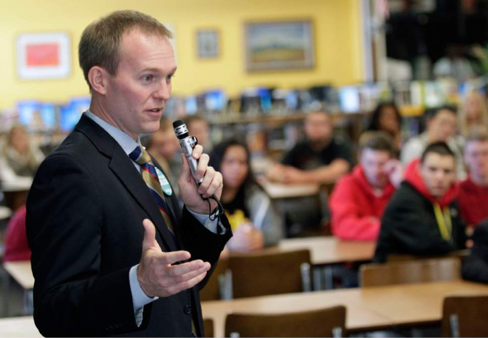 Al Hartmann  |  Tribune file photo Salt Lake County Mayor Ben McAdams has been cleared in an FBI investigation into allegations leveled by former state Rep. Justin Miller.