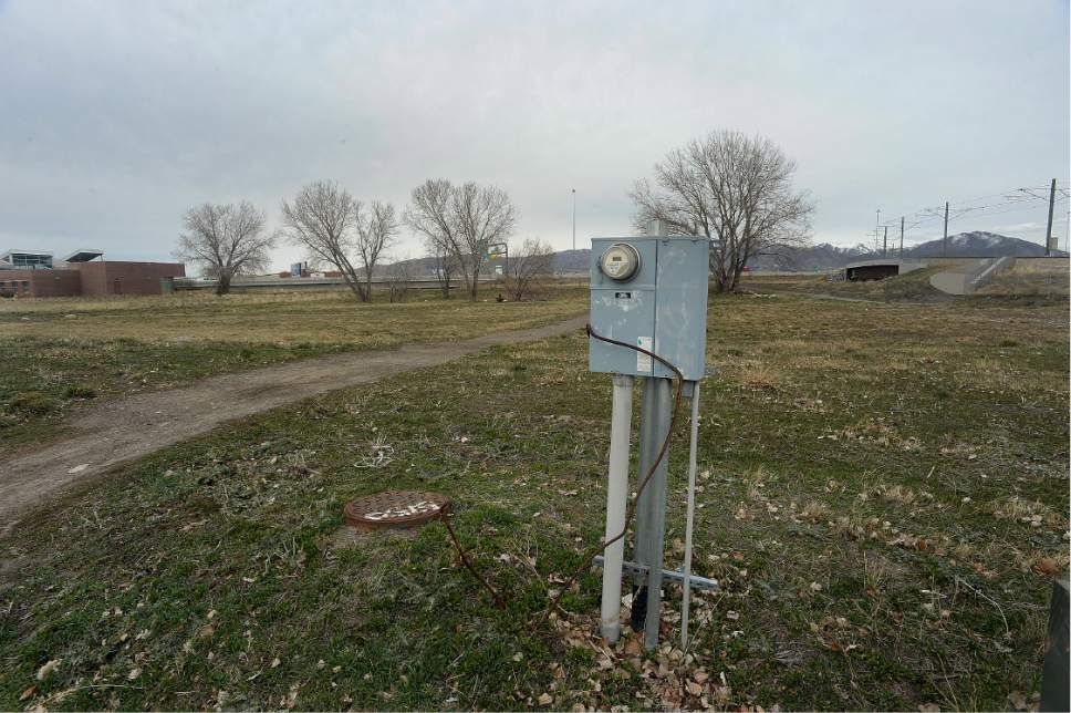 Scott Sommerdorf | The Salt Lake Tribune The empty field at the 2249 South Winston St. (1070 W) address in West Valley City, Friday, March 9, 2017.
