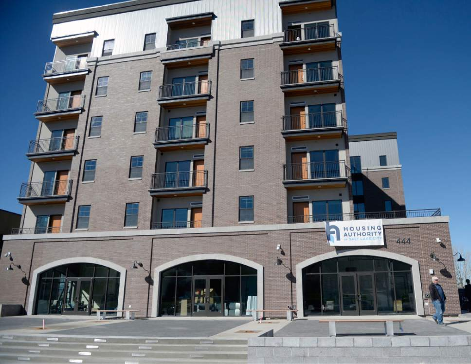 Salt Lake City officially opens new affordable housing ...