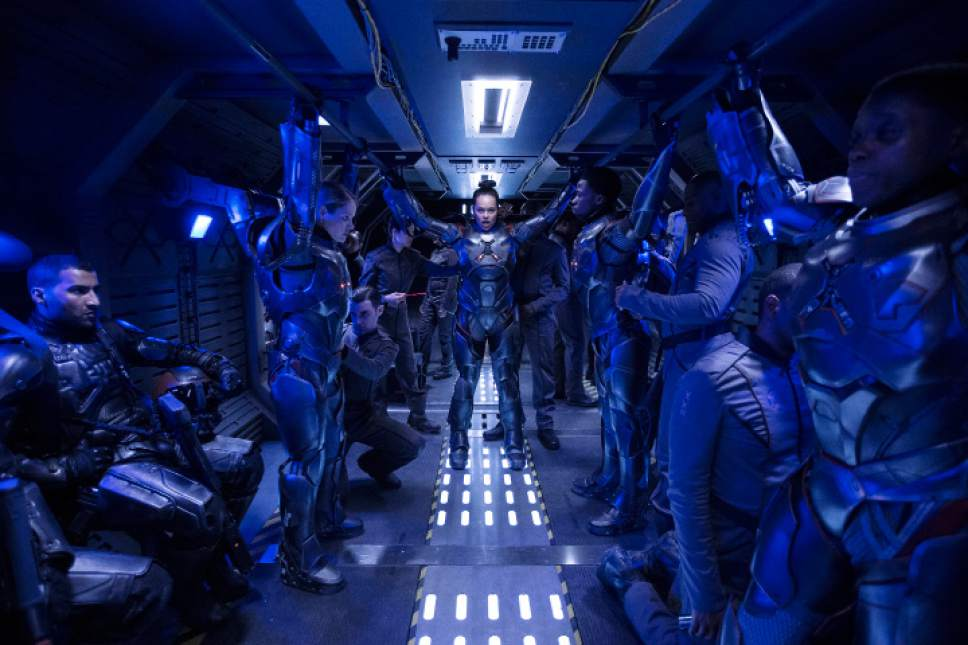 """In the Season 2 premiere of """"The Expanse,"""" Frankie Adams joins the cast of as Martian marine Bobbie Draper. Rafy     Syfy"""