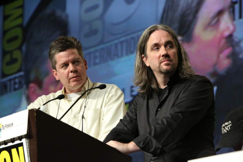 Daniel Abraham and Ty Frank are the authors of ìThe Expanseî novels, short stories and novellas. Evans Vestal Ward     Syfy