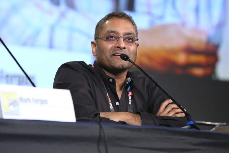 "Evans Vestal Ward  |  Syfy  ""Expanse"" executive producer Naren Shankar."