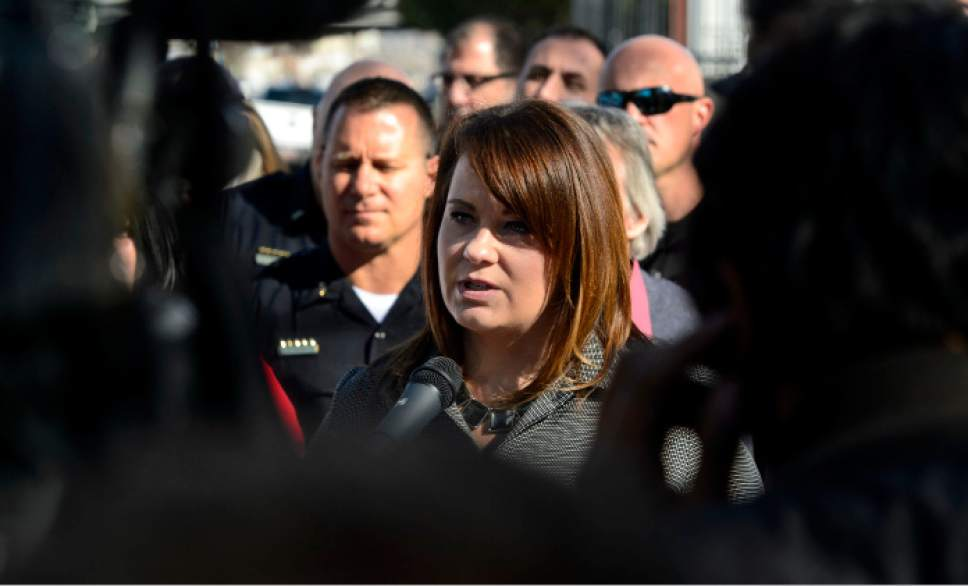 Steve Griffin  |   Tribune file photo  South Salt Lake Mayor Cherie Wood.