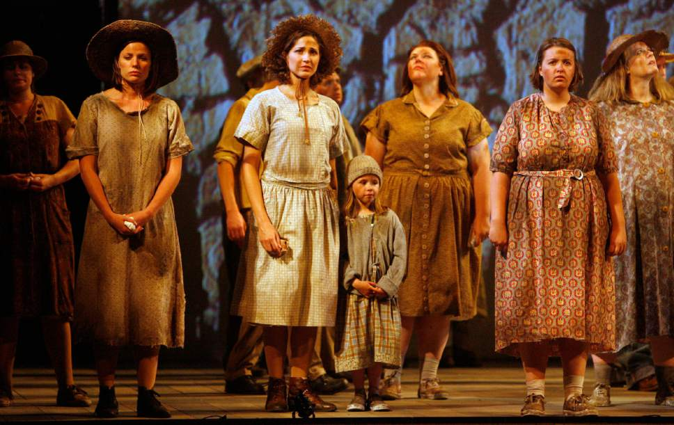 "Al Hartmann  |  Tribune File photo  Utah Opera's 2007 production of Ricky Ian Gordon's ""The Grapes of Wrath"" was supported in part by a National Endowment for the Arts grant."