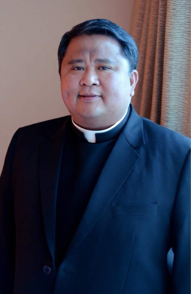 Mike Stack  |  for The Salt Lake Tribune  The Reverend Albert Avenido
