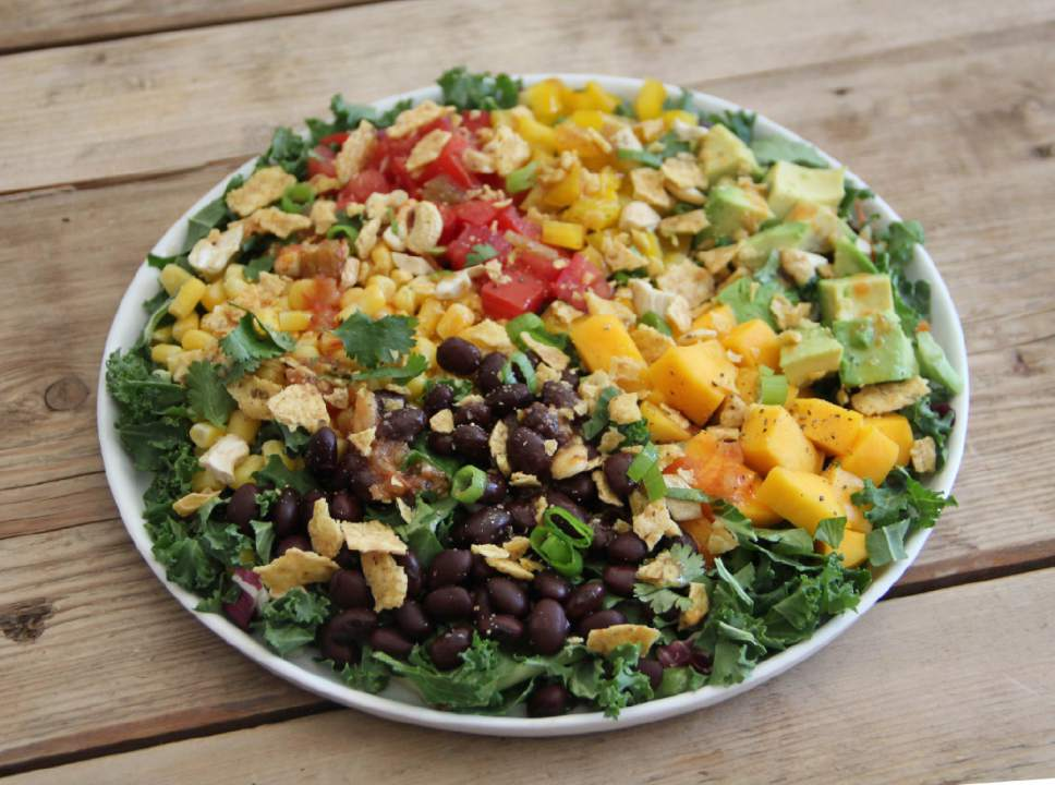 Black beans and mango combine in a delicious, filling salad (with recipe)