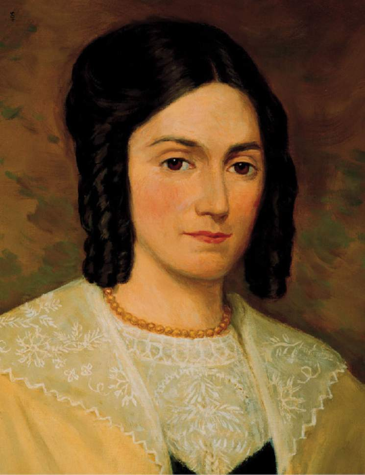 Emma Hale Smith, wife of LDS Church founder Joseph Smith. Photo courtesy of the LDS Church