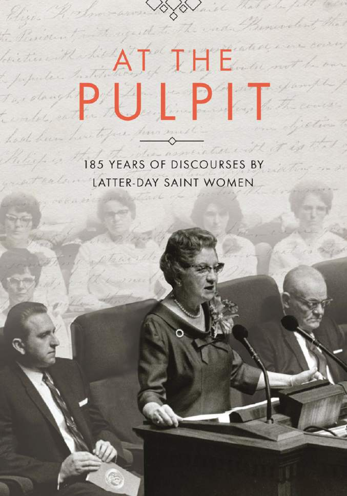 "Book cover for ""At The Pulpit.""  Courtesy image"
