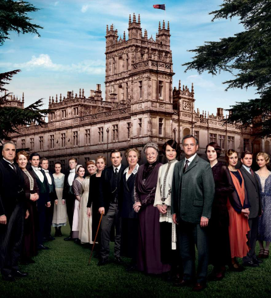 """Courtesy photo The cast of PBS's  """"Downton Abbey."""""""