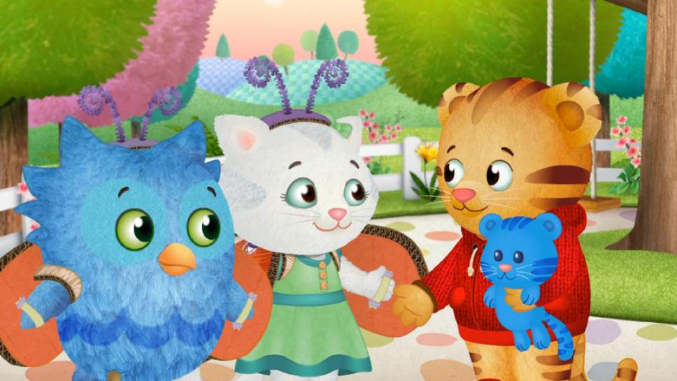 """""""Daniel Tiger's Neighborhood"""" is part of the lineup on the PBS KIDS channel. Courtesy Daniel Tiger's Neighborhood/The Fred Rogers Company"""