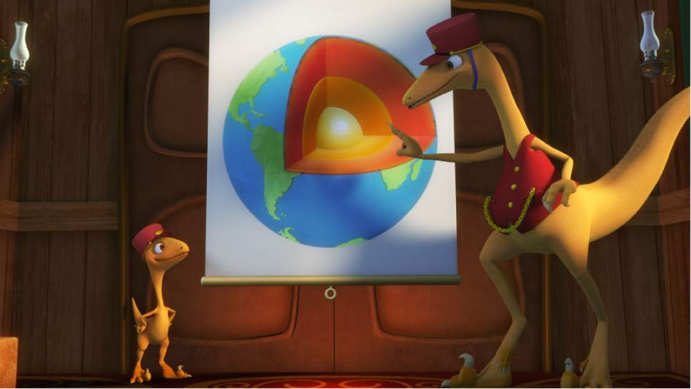 """""""Dinosaur Train"""" is part of the lineup on the PBS KIDS channel. Courtesy of The Jim Henson Company"""