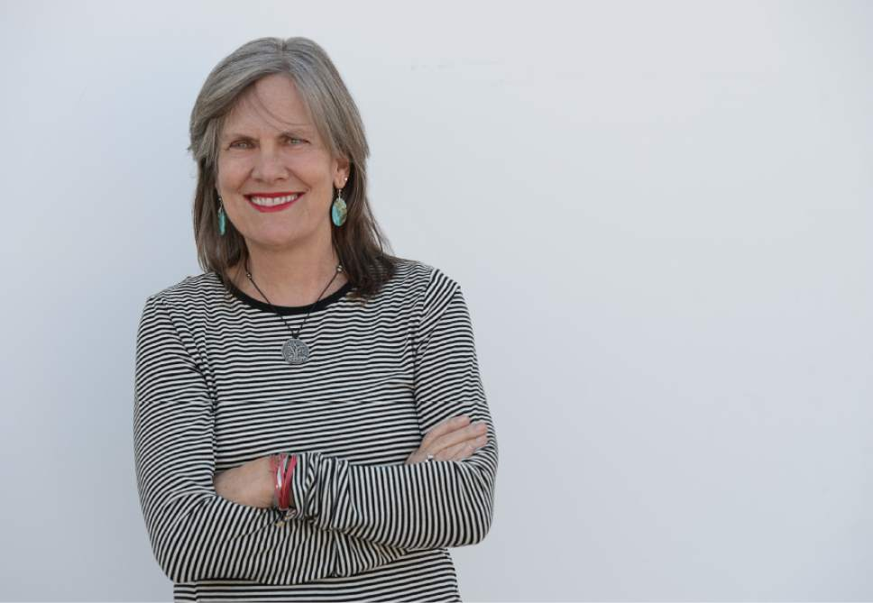 Francisco Kjolseth   The Salt Lake Tribune Tribune columnist Ann Cannon