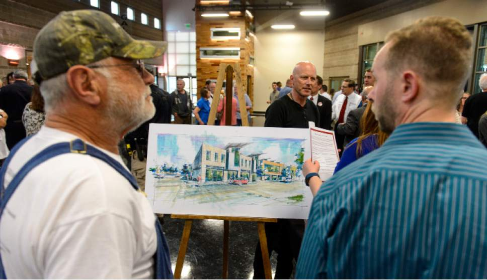 Steve Griffin  |  The Salt Lake Tribune   West Valley City citizens attend an open house on proposed homeless shelters in their city at the Utah Cultural Celebration Center in West Valley City Tuesday March 21, 2017.