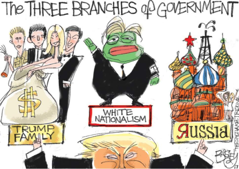 bagley cartoon the three branches of government