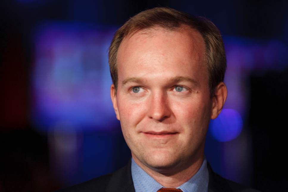 Trent Nelson  |  The Salt Lake Tribune Ben McAdams Ô Salt Lake County mayor