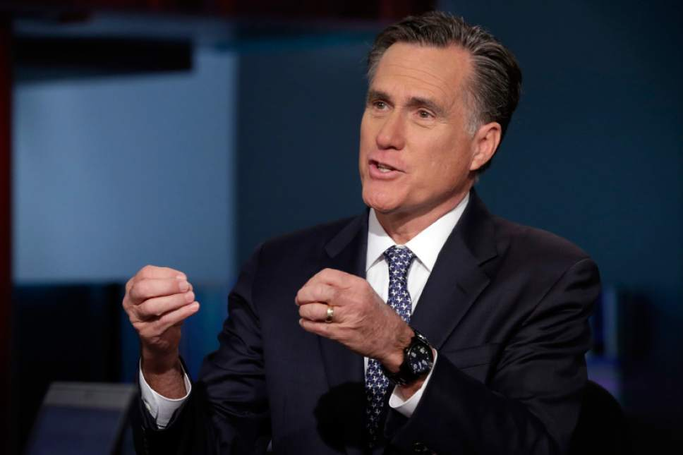 Richard Drew  |  AP file photo  Mitt Romney is once again hosting his annual E2 Summit in Park City.