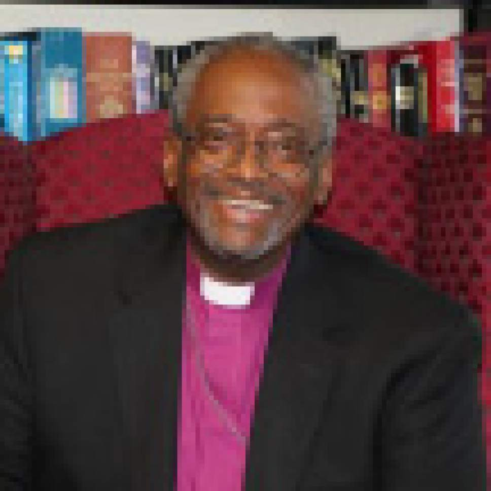 |  Courtesy of Episcopal Church  The Rev. Michael Curry, president of the U.S. Episcopal Church.