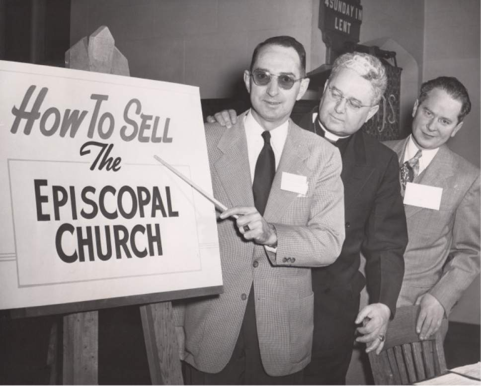 |  Courtesy  The Episcopal Church worked on marketing concepts in the late 1950s under Bishop Richard Watson.