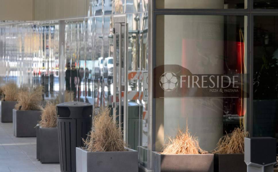 Steve Griffin  |  The Salt Lake Tribune Fireside on Regent, a new 50-seat restaurant serving wood-fired pizza and artisan pasta, has opened, making it the first of nearly a dozen eating establishments expected to settle in the redeveloped block behind the new Eccles Theater in Salt Lake City.