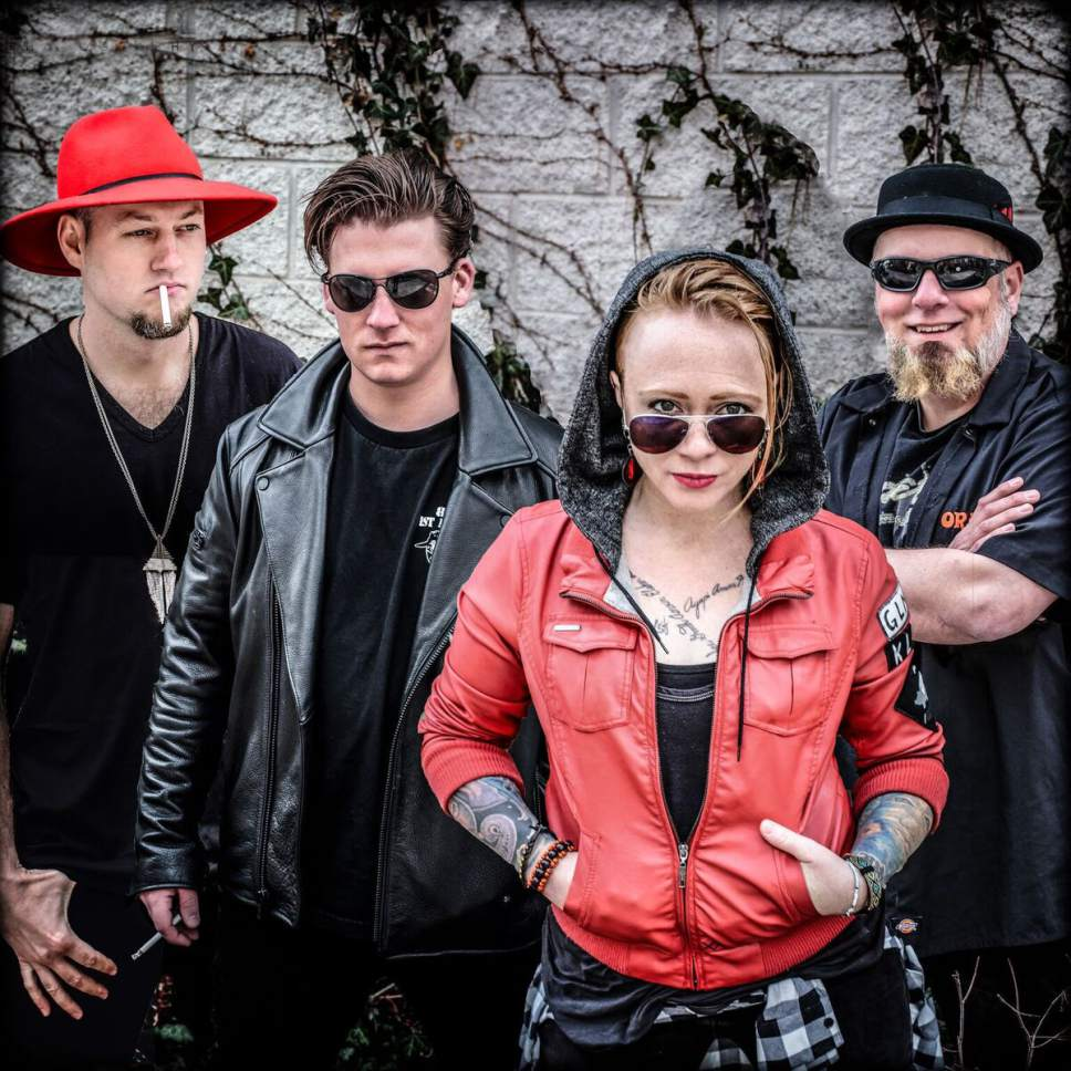 |  Courtesy photo  Salt Lake-based rock and blues band Ginger and the Gents play shows throughout Utah, Idaho and Wyoming. They'll be performing at Ogden's Funk 'n Dive on Friday, April 7.