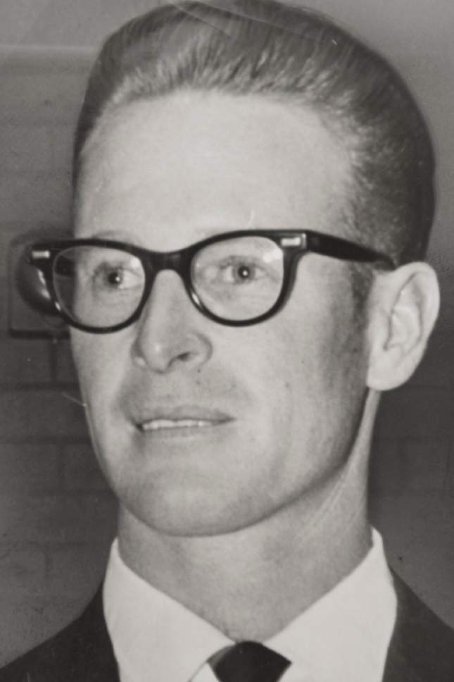 """Tribune file photo  Miles """"Cap"""" Ferry, seen here as a candidate for office in 1964."""