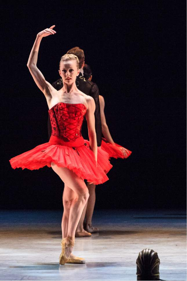"Courtesy photo  Ballet West's ""Journeys and Reflections"" program running April 7-15 at the Capitol Theatre in Salt Lake City includes Utah native choreographer Garrett Smith's ""Façades."""