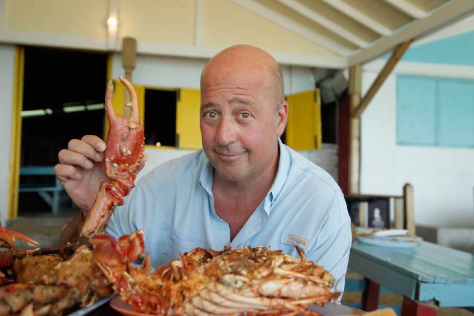 TV personality, chef and author Andrew Zimmern will speak at Kingsbury Hall on Tuesday, April 11, as part of the Natural History Museum of Utah's annual lecture series. Steve Henke  |  Courtesy
