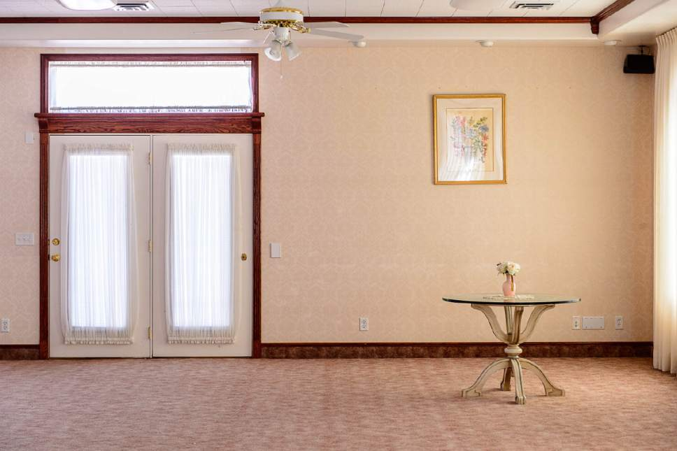 Trent Nelson  |  The Salt Lake Tribune The prayer room in the former home of Warren Jeffs in Hildale, Wednesday April 5, 2017.