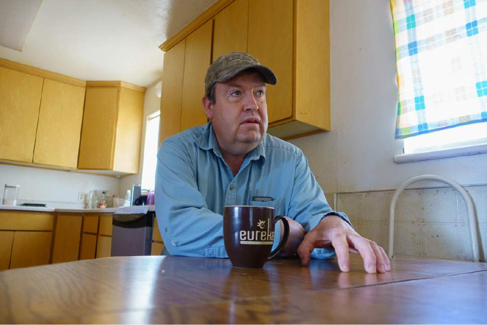 Trent Nelson  |  The Salt Lake Tribune David Bistline in his Colorado City, AZ home, Thursday April 6, 2017.