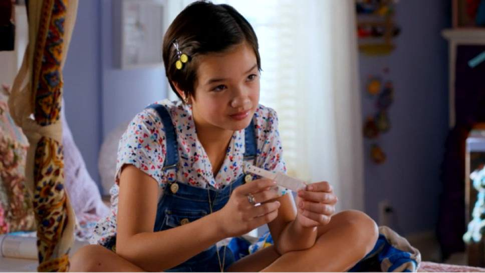 Peyton Elizabeth Lee stars as the title character in the new series ìAndi Mack.î Fred Hayes  |  Disney Channel