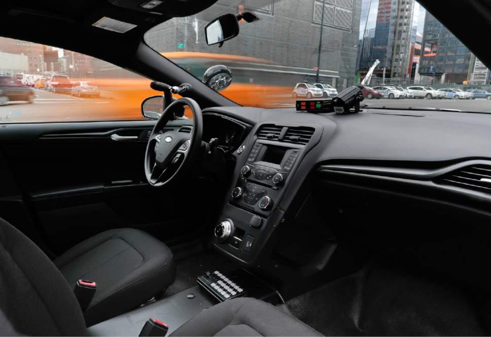 Ford Hybrid Police Car Catches Bad Guys Saves Gas The Salt Lake Tribune