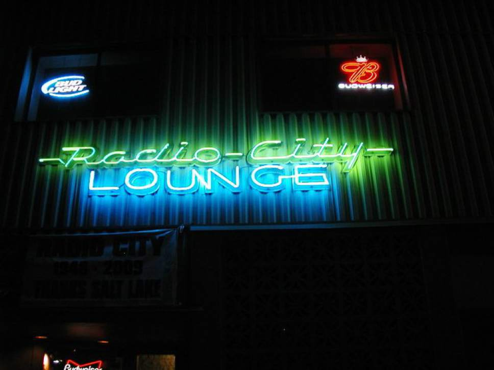 The Radio City Lounge as it appeared on August 23 2009, its closing night. Photo courtesy of Ben Williams.