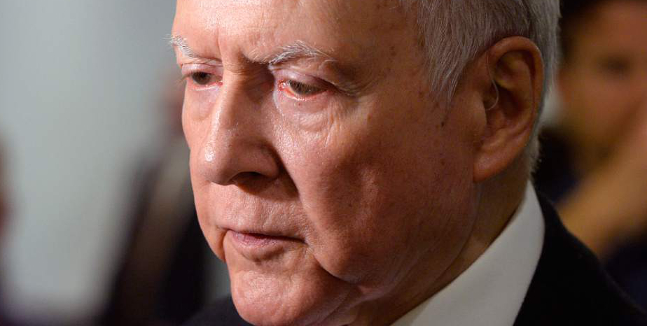 Al Hartmann  |  The Salt Lake Tribune Sen. Orrin Hatch speaks at a gathering in Lehi Tuesday April 11 to celebrate the 45th anniversary of Natures Sunshine.