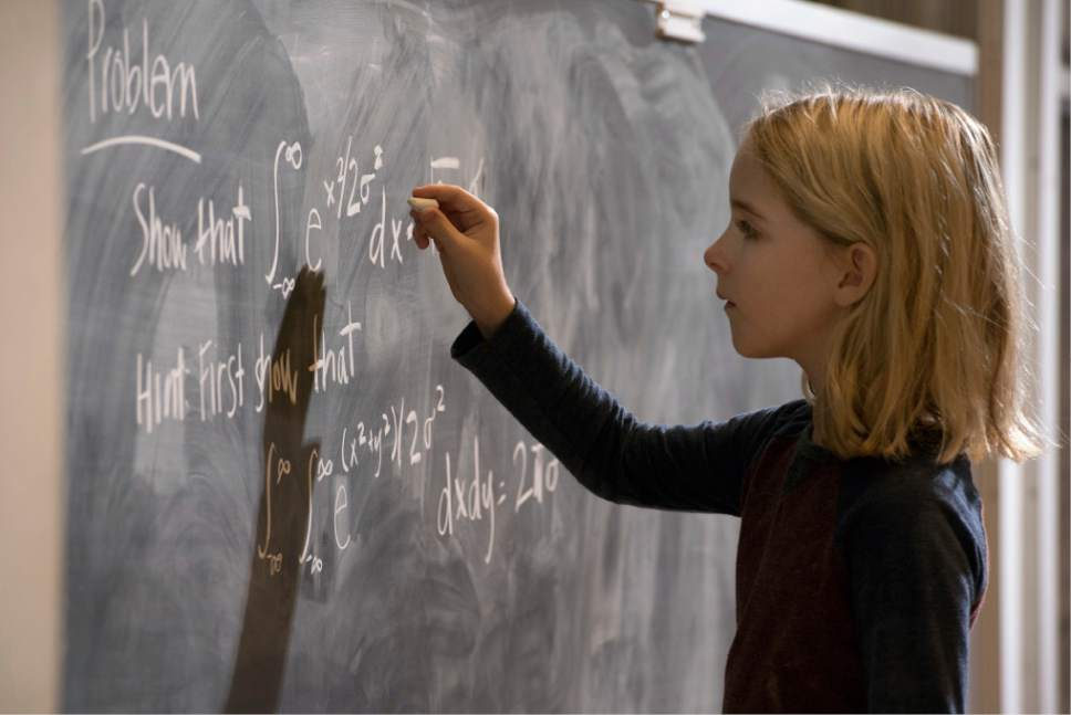 """In this image released by Fox Searchlight Pictures, McKenna Grace appears in a scene from, """"Gifted."""" (Wilson Webb/Fox Searchlight Pictures via AP)"""