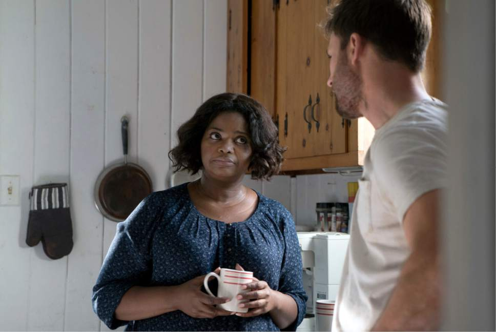 """In this image released by Fox Searchlight Pictures, Octavia Spencer, left, and Chris Evans appear in a scene from, """"Gifted."""" (Wilson Webb/Fox Searchlight Pictures via AP)"""